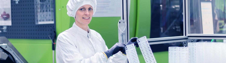 ORNAMIN Kunststofftechnik Reinraumfertigung